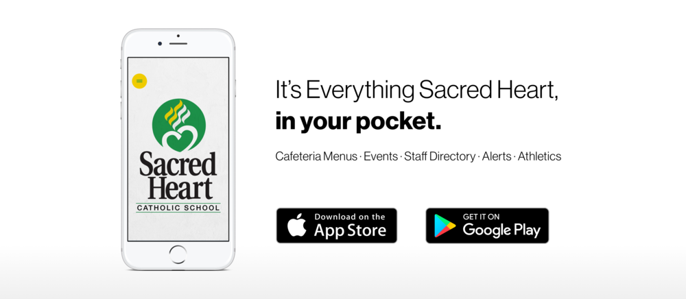 Sacred Heart's new app!!