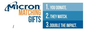 Micron Matching Gifts - 2 days only!