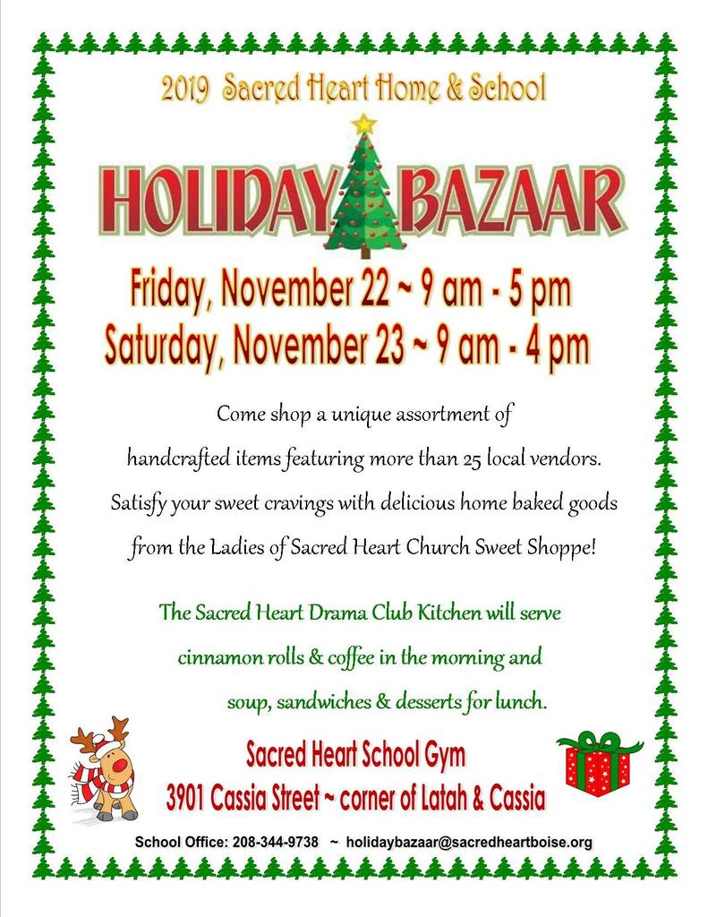 2019 Holiday Bazaar